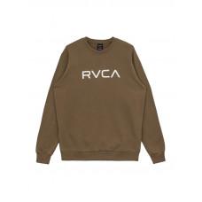 RVCA BIG RVCA olive pánská mikina - M