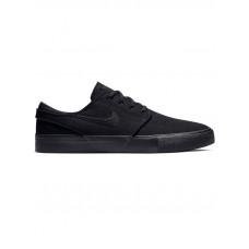 Nike SB ZOOM JANOSKI CNVS RM BLACK/BLACK pánské letní boty - 44EUR