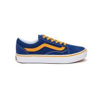 Vans ComfyCush Old Skool (Pop) true blue/cadmium yellow dámské letní boty - 38EUR