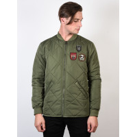 Dc HEDGEHOPE VINTAGE GREEN zimní bunda pánská - L