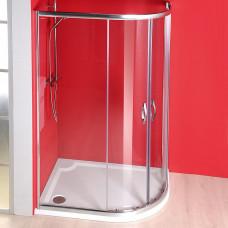 GELCO - SIGMA čtvrtkruhová sprchová zástěna 1200x900 mm, R550, 2 dveře, L/R, čiré sklo (SG1290)