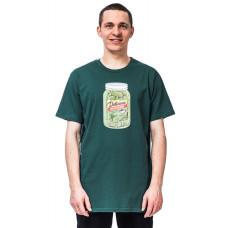 Horsefeathers PICKLES smoke pine pánské tričko s krátkým rukávem - XXL