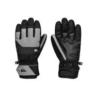 Quiksilver GATES TRUE BLACK pánské prstové rukavice - L