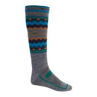 Burton PERFORMANCE UL Gray Heather kompresní ponožky - L