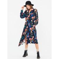 Femi Stories FISI FLMA luxusní plesové šaty dlouhé - M