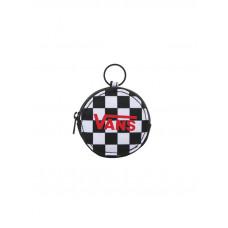 Vans COIN PURSE KEYCHAIN Black Checkerboard luxusní dámská peněženka
