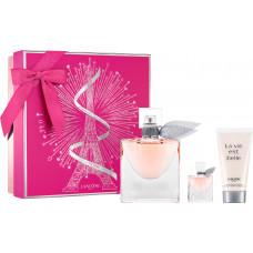 Lancome La Vie Est Belle W parfémovaná voda 75ml + parfémovaná voda 4ml + BL 75ml