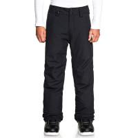 Quiksilver ESTATE black dětské kalhoty na snb - 12/L