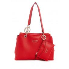 GUESS kabelka Tara Girlfriend Satchel červená vel.