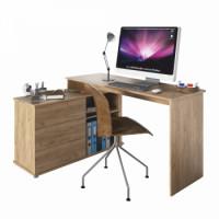 Univerzální rohový psací stůl TERINO dub artisan - TempoKondela