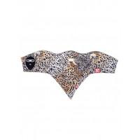 Airhole Cheetah zluta, cerna dámský nákrčník