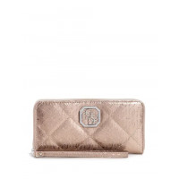 GUESS peněženka Dilla Zip-Around Wallet pewter vel.