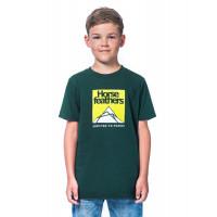 Horsefeathers LEX JUNGLE GREEN dětské tričko s krátkým rukávem - XL