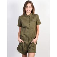 Fox Wrenching Romper FATIGUE GREEN společenské šaty krátké - L