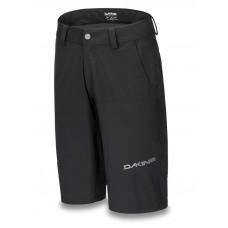 Dakine DROPOUT black cyklistické šortky - XXL