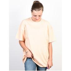 Vans OVERTIME OUT BLEACHED APRICOT dámské tričko s krátkým rukávem - M