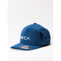 RVCA FLEX FIT FRENCH BLUE pánská kšiltovka - L/XL