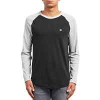 Volcom Pen HEATHER GREY dětské tričko s dlouhým rukávem - L