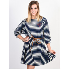 Picture Vuelvo dark blue společenské šaty krátké - L