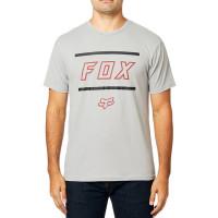 Fox Midway Airline GREY/RED pánské tričko s krátkým rukávem - XL