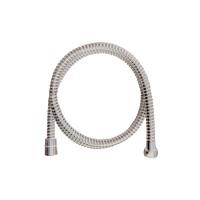 MEREO - Sprchová hadice 150 cm spirálová, bílá, plastová (CB110R)