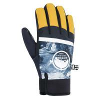 Picture Hudsons IMAGINARY BLUE pánské prstové rukavice - L