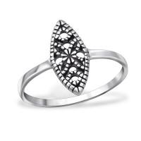 OLIVIE - stříbrný prsten 0220 Velikost prstenů: 6 (EU: 51 - 53)