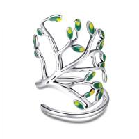 OLIVIE Stříbrný prsten STROM ŽIVOTA 2956