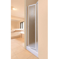 Aquatek LUX B6 90 - Sprchové dveře zalamovací 86 - 91 cm