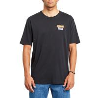 Volcom Surprise black pánské tričko s krátkým rukávem - L