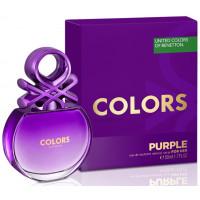 Benetton Colors de Benetton Purple toaletní voda Pro ženy 80ml