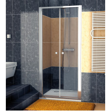 SanSwiss ECP2 0700 50 07 Dvoukřídlé dveře 70 cm, aluchrom/sklo