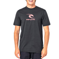 Rip Curl ICON USED black pánské tričko s krátkým rukávem - XXL