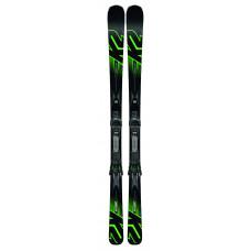 Pánské lyže K2 IKONIC 80TI + MXC 12 TCX LIGHT QUIKCLIK black - green SET (2018/19) velikost: 184 cm