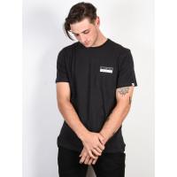 Element BEACON OFF BLACK pánské tričko s krátkým rukávem - XL