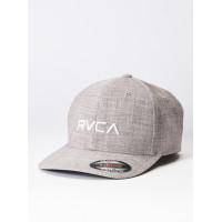 RVCA FLEX FIT KHAKI baseball čepice - S/M