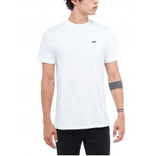 Vans SKATE CLASSIC white pánské tričko s krátkým rukávem - S
