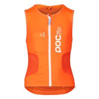 POC POCito VPD Air Vest FLUORESCENT ORANGE ochrana na snowboard - S