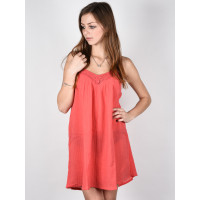 Billabong BEACH BOUND HORIZON RED společenské šaty krátké - M