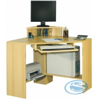 Rohový PC stůl Rolo - Mikulík