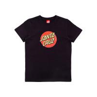 Santa Cruz Classic Dot black dětské tričko s krátkým rukávem - 8-10