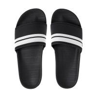 Quiksilver RIVI SLIDE BLACK/BLACK/WHITE pánské pantofle - 42EUR