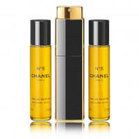 Chanel N°5 Eau De Parfum parfémovaná voda Pro ženy 3x20ml plnitelný flakón