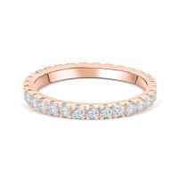 OLIVIE Stříbrný prstýnek ROSE TŘPYTIVÁ ZÁŘE 4702 Velikost prstenů: 6 (EU: 51 - 53)