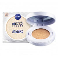 Nivea Hyaluron Cellular Filler pečující make-up v houbičce 3v1 02 Medium 15g