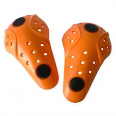 Chrániče kolen d3o se suchým zipem, uni, oranžové - kolena - Held HED 9127 66