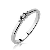 OLIVIE Zásnubní prsten ze stříbra 3366 Velikost prstenů: 9 XL (EU: 61)