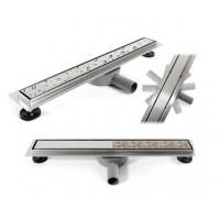 REA - Lineární odtokový žlab + sifon + nožičky + rošt Neo Pure 600 N Pro (REA-G0900)