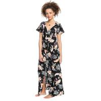 Roxy A NIGHT TO REMEMBER ANTHRACITE LARGE PRASLIN luxusní plesové šaty dlouhé - L