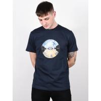 Element AIKEN ECLIPSE NAVY pánské tričko s krátkým rukávem - M